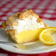 If your pie comes from powder in a box, STOP! A fantastic homemade lemon meringue pie, completely from scratch, is better & actually just as easy to prepare