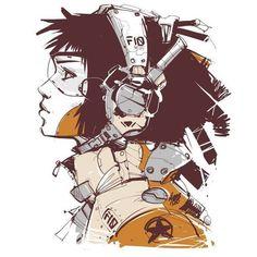 Cyberpunk Art   Киберпанк