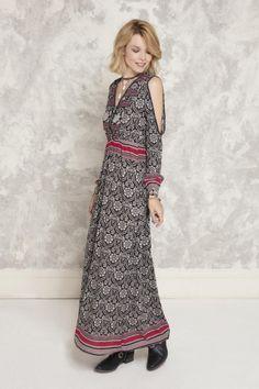Vestido Frida Long Sari