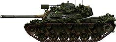 M48 Patton Main Battle Tank (1955) U.S.A. - Around 12 000 built
