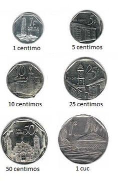 Monedas Peso convertible (Cuc)
