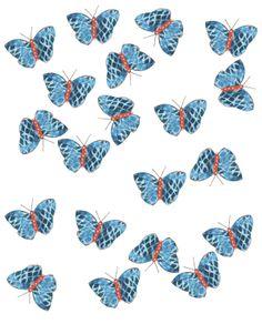 Light Blue Butteflies