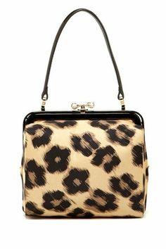 Animal Print Handbag.