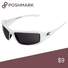 Men's White Polarized Sunglasses Edge Eyeware polarized glasses in new condition Edge Eyeware Accessories Sunglasses