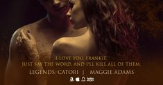 Renee's Author Spotlight: Legends: Catori - A by Maggie Adam. Paranormal Romance Series, Romance Authors, I Love You, My Love, Tours, Sayings, Spotlight, Legends, Movie Posters