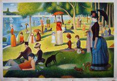 A Sunday Afternoon On The Island Of La Grande Jatte- Seurat