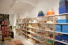 A charming design store that carries brands such as Hay and Normann Copenhagen. Visit Helsinki, I Decided, Four Square, Copenhagen, Places, Interior, Store, Design, Home Decor