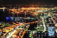 Yokohama, night view