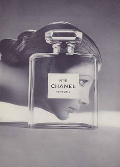 Chanel #5 Ad (1970), this is my Mother wore when I was young. The smell reminds me of her at that time.