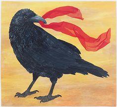 Isadora Raven by Cat Larrea  ~ 32 x 35
