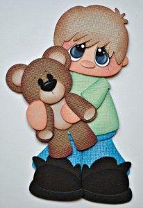 teddy bear boy