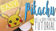 How To Paint Pikachu | Face & Body Painting Tutorial