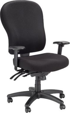 Staples Baird Bonded Leather Managers Chair Black Flash