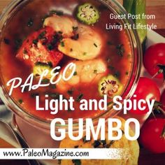 Paleo Gumbo Recipe - Guest Post from Living Fit Lifestyle