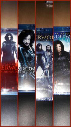 Underworld 1-4 Blu-ray Collage