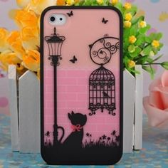 Чехол Ero case Black Cat для IPhone 4&4s