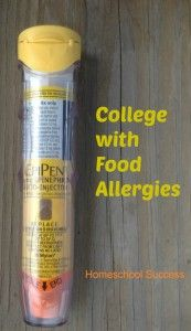 College with food allergies