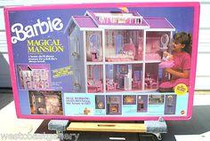Barbie Magical Mansion 1990 Mattel Very RARE Unopened Vintage Barbie Doll | eBay
