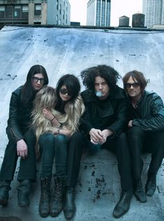 Dead Weather... Okay, so not much to look at, but I'm in LOVE with this guy's musical style. Viva Jack White!
