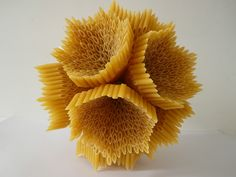 Pasta sculptures and more by Sinéad Foley - Lost At E Minor: For creative people Toothpick Sculpture, Straw Sculpture, Cardboard Sculpture, Cardboard Art, Sculpture Art, Sculpture Ideas, Sculpture Lessons, Sculpture Projects, Art Projects