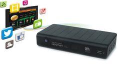 ¿Quieres un sintonizador TDT HD con conexión a Internet? Best Buy te ofrece Easy Home DVB-T HD Smart, un producto revolucionario por tan sólo 44,90 euros.  Gracias a este sintonizador, puedes disfrutar en tu televisor de un montón de aplicaciones: Facebook, Twitter, el tiempo, música, vídeos bajo demanda y noticias por sistema RSS, entre otras, además de disfrutar de los canales de TDT en Alta Definición y poder grabar tus programas favoritos. Se conecta a Internet mediante la red WiFi.