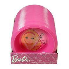 "$5.99 Barbie 6.5"" Rimmed Bowl  From Barbie   Get it here: http://astore.amazon.com/ffiilliipp-20/detail/B005LA8X4Y/176-0330499-0872708"