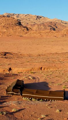Bedouin tents at Wadi Rum ~ Rum is referred to in the Bible as Aram or Iram, while it may also be the land of Uz mentioned in the book of Job (1:1).