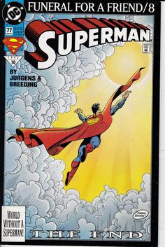 Superman 77  March 1993 Issue  DC Comics  Grade NM by ViewObscura
