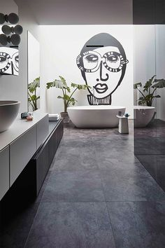Luxe vinyl vloer met de look van natuursteen. #tarkett @watisjouwstijl