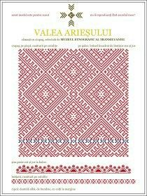 Romanian transilvanian stitch Aries Valley.
