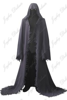 Creepy cloak. Not exactly how I want it to look but this will do