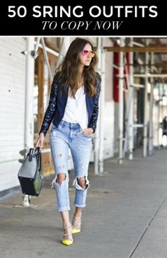 50 Spring Outfit Ideas to Copy Now