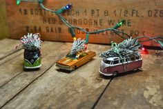 Toy cars with Tree
