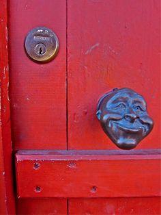 doorknob - In Narrow St, Limehouse