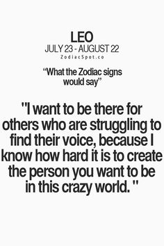 What would your Zodiac sign say?