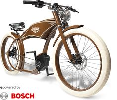 In this week's eBike news roundup: Ruffian eChopper with Bosch available in N.A. New Ducati all-in-one eWheel New eBikes from Kalkhoff & Winora New Sinclair enclosed trike Vintage showroom gran…