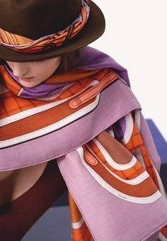 Fall-Winter 2012 Hermès silk collection Silk twill scarf