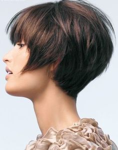 Short Hairstyles with Bangs   Full Dose