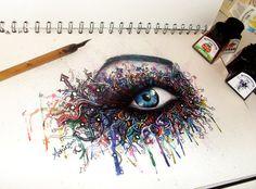 Graffiti Eye by ATBones.deviantart.com on @deviantART