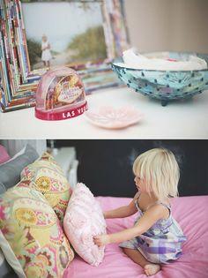 Big girl room ideas   Girly Details for a Modern Princess Room