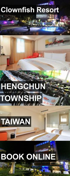 Hotel Clownfish Resort in Hengchun Township, Taiwan. For more information, photos, reviews and best prices please follow the link. #Taiwan #HengchunTownship #travel #vacation #hotel