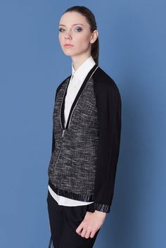 Cocoon Fall - Winter 2014-15 / Blu collection / Bomber Jacket