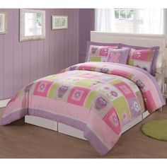 My World Happy Owls Bedding Collection