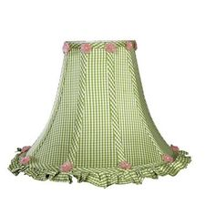 """Jubilee Collection 12"""" Silk Bell Lamp Shade"""