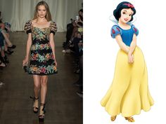 Snow White, Snow White - Photo: (from left) Steve Masse/Indigitalimages.com; Photo: Courtesy of Walt Disney Pictures