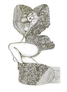 Spiritual Drawings, Artsy Fartsy, Illustration, Inspire, Artists, Mood, Fashion, Moda, Fashion Styles