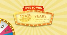 From now until May 31, Spin to Win instant discounts for BERNINA's online shop. Plus, get draw entries for a Golden Foot #1 with thread and tin. You could even win a $250 eGift certificate for BERNINA's online shop.
