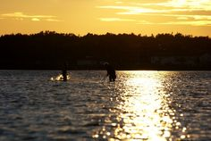 La rivière d'or by Angela Goguen Grandparent, Silhouette, Warm, Celestial, Running, Sunset, Gallery, Photography, Outdoor