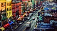 With tilt-shift photography, you can make the world look like adorable toy land. Tilt-shift is a trick photography type. Tilt Shift Photography, Types Of Photography, Tilt Shift Photos, Tilt Shift Lens, New York Photos, Modern Metropolis, Great Shots, Graphic Design Inspiration, Daily Inspiration