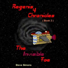 'Regenis 4 Chronicles Book 2 - The Invisible Foe' Space craft start disappearing, but the authorities can't figure out why, who or what is behind this. There is much fear in the Glaceons family, especially as the eldest son is now a qualified interstellar pilot and regularly traveling through space.
